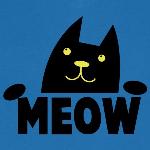 MEOW CAT with cutie little paws looking up asking T-Shirts - Men's V-Neck T-Shirt