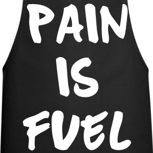 Pain Is Fuel  Aprons - Cooking Apron