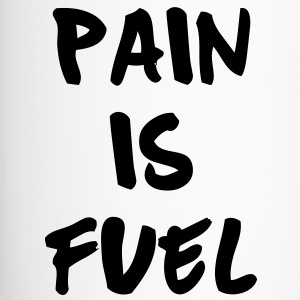 Pain Is Fuel Bottles & Mugs - Travel Mug