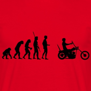 Chopper Evolution  T-shirts - T-shirt herr