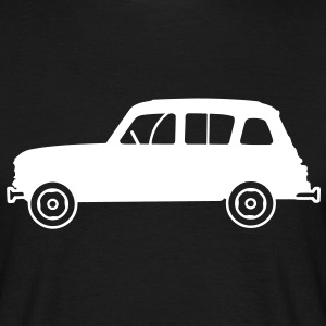 Renault 4L profil Tee shirts - T-shirt Homme