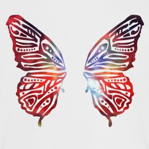 colourful butterfly wings T-Shirts - Women's Ringer T-Shirt