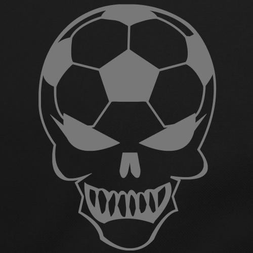 Fußball-Totenkopf