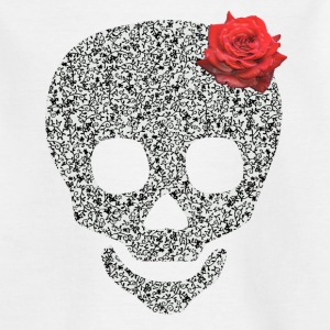skull and rose Skjorter - T-skjorte for barn
