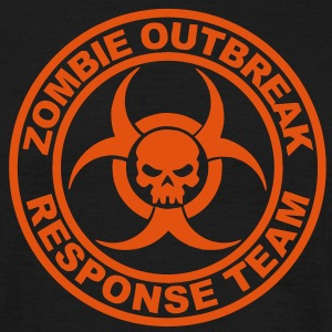 Zombie Outbreak Response Team Tee shirts - T-shirt Homme