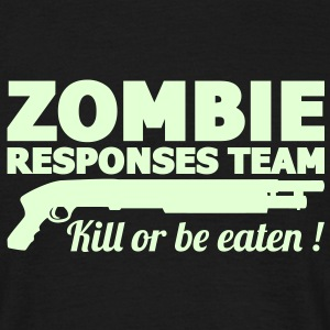 Zombie response team Tee shirts - T-shirt Homme