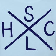 Design ~ SLHC X t-shirt pale/navy KIDS