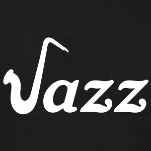 Jazz Saxophone Sax Music T-Shirts - Men's T-Shirt