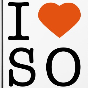 I love Soest Handy & Tablet Hüllen - iPhone 4/4s Hard Case