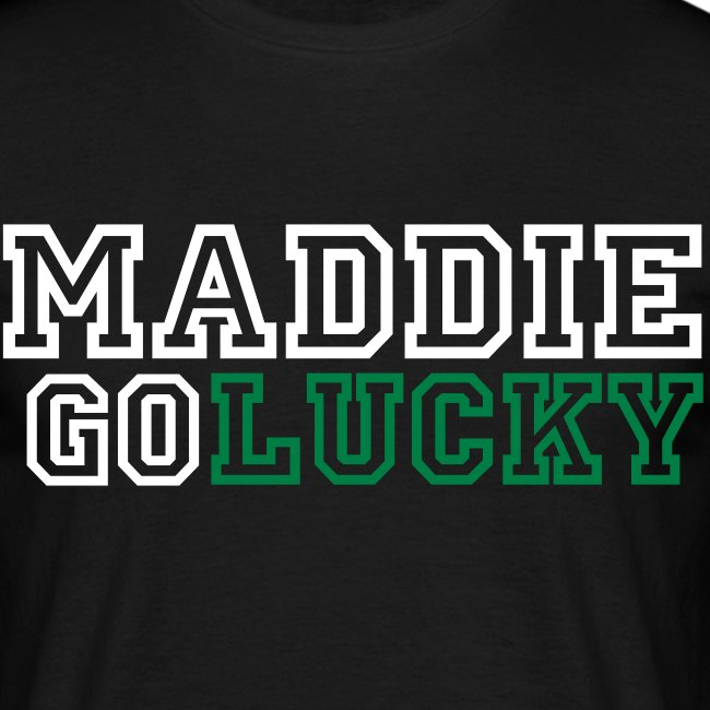 MaddieGoLucky Shirt - (Men's - Black)