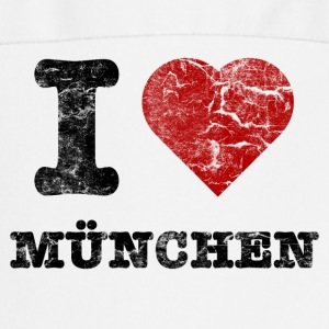 i_love_muenchen_vintage  Aprons - Cooking Apron