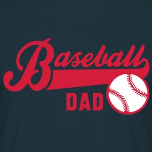 Baseball DAD 2C T-Shirt RN - Men's T-Shirt