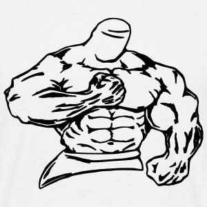 bodybuilder / fighter - Men's T-Shirt