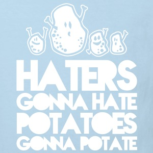 haters gonna hate potatoes gonna potate Shirts - Kinderen Bio-T-shirt