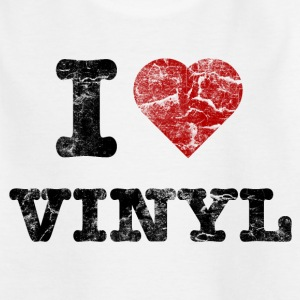 i_love_vinyl_vintage Shirts - Teenager T-shirt
