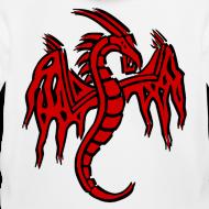 Motif ~ Pull à capuche enfant dragon chinois