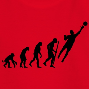 Evolution Torwart Fussball T-Shirts - Kinder T-Shirt