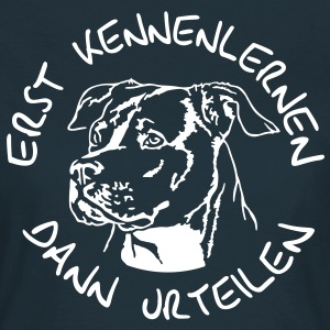 409 Staffordshire Terrier kennenlernen T-Shirts - Frauen T-Shirt