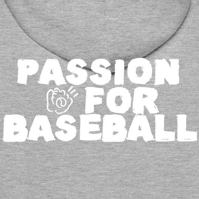 Sweat Passion for baseball verso