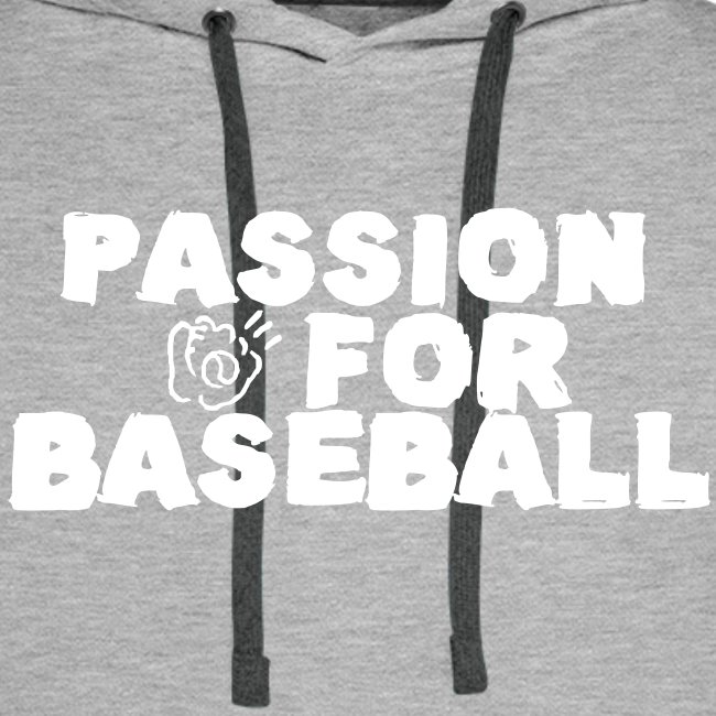 Sweat Passion for baseball recto