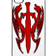 Motif ~ Coque iPhone double dragon chinois