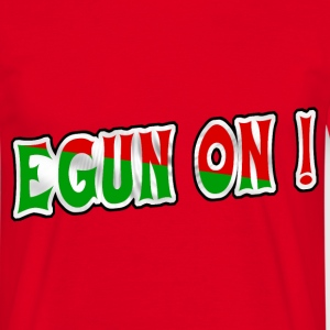 bonjour, egun on T-Shirts - Men's T-Shirt
