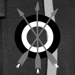 arrow trinity archery by patjila Sweat-shirts - Veste à capuche Premium Femme