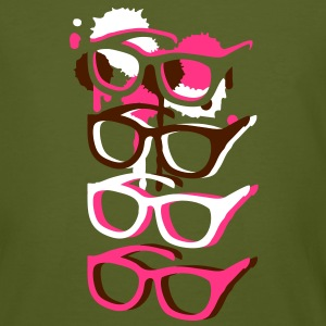 Four colorful sunglasses in graffiti style T-Shirts - Men's Organic T-shirt