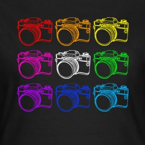Cameras (White) - Women's T-Shirt