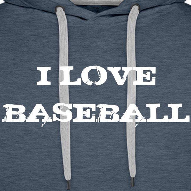 Sweat I love baseball