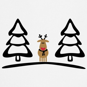 christmas reindeer  Aprons - Cooking Apron