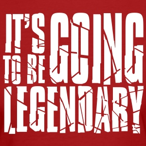 it's going to be legendary II T-shirts - Organic damer