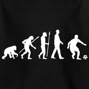 evolution_fussball_092012_a_1c_black T-Shirts - Teenager T-Shirt