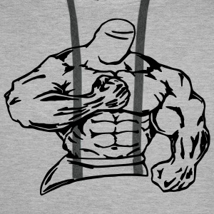 bodybuilder / fighter - Men's Premium Hoodie