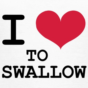 I Love To Swallow [Porn / Sex] T-shirts - Vrouwen T-shirt