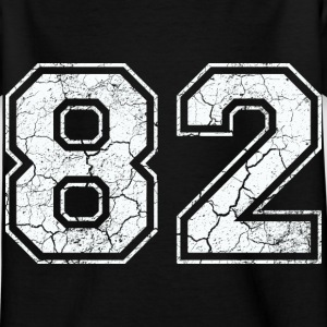 82 in white in the used look Shirts - Kids' T-Shirt