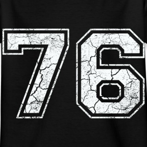 76 in white in the used look Shirts - Kids' T-Shirt