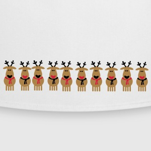christmas reindeer crew  Aprons - Cooking Apron