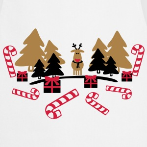 reindeer in the forest   Aprons - Cooking Apron