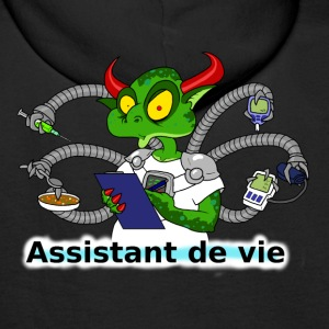 assistant de vie Sweat-shirts - Sweat-shirt à capuche Premium pour hommes