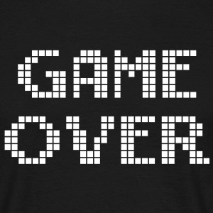 Game Over - spill T-skjorter - T-skjorte for menn