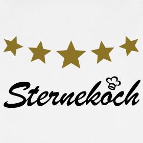 sternekoch mit 5 goldenen sternen kochsch rze sch rze. Black Bedroom Furniture Sets. Home Design Ideas
