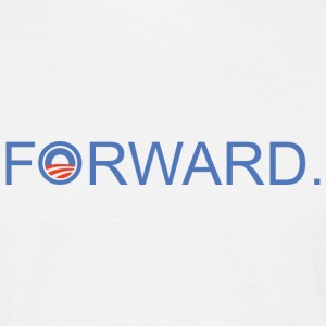 Forward Obama 2012. - Männer T-Shirt