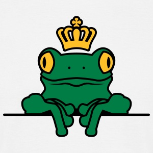 Frosch | Krone | Frog | Crown T-Shirts - T-shirt Homme