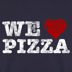 we_love_pizza_vintage_hell Sweaters - Mannen sweater