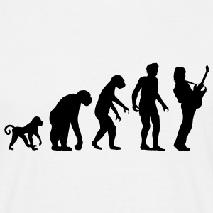 evolution of rock - Männer T-Shirt