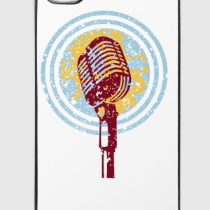 vintage microphone love music Other - iPhone 4/4s Hard Case