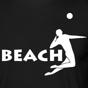 beach volleyball Beachvolleyball T-Shirts - Männer T-Shirt