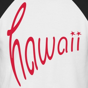 Hawaii T-Shirts - Männer Baseball-T-Shirt