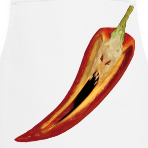 screaming hot chili  Aprons - Cooking Apron